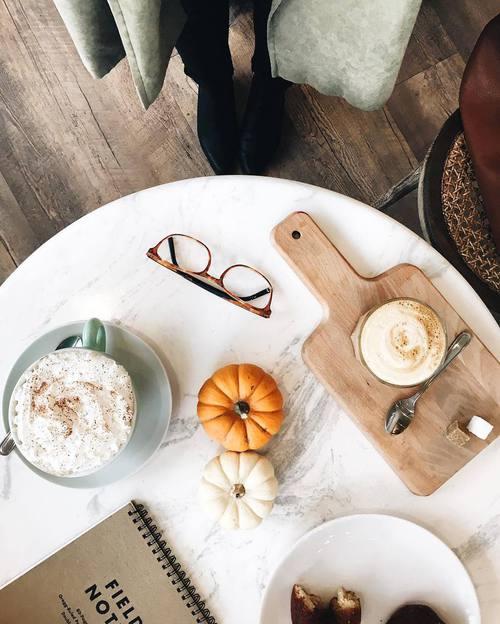 coffee, pumpkin, and food halloween
