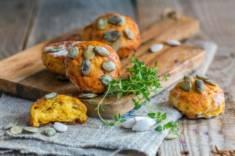 Dyniowe scones z tymiankiem – CookMagazine