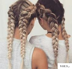 Jak zrobić? Dwa dobierane odwrotne warkocze / How do Two selected reverse braids tutorial / Wie  ...