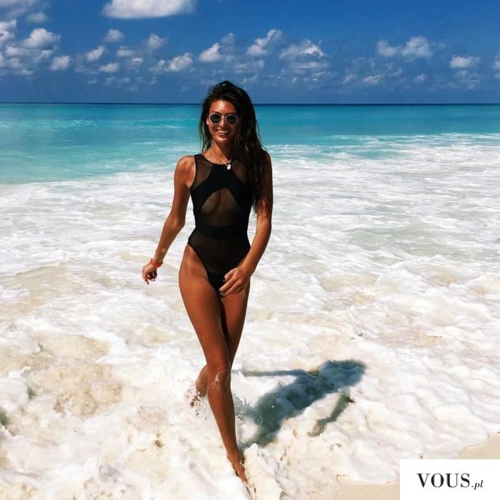 Przepiękna plaża, jak wyglądać ładnie nad morzem w bikini?