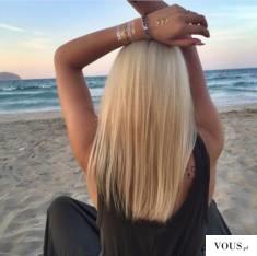 blond włosy inspiracja