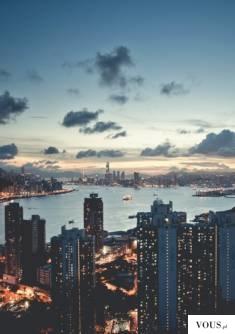 big city – widok miasta nocą