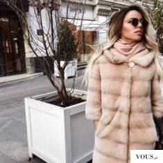 Płaszcz futrzany inaczej | faux fur coat | искусственный мех пальто
