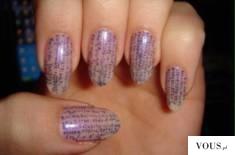 ciekawe i skuteczne sposoby na ściąganie, ściąga na paznokciach