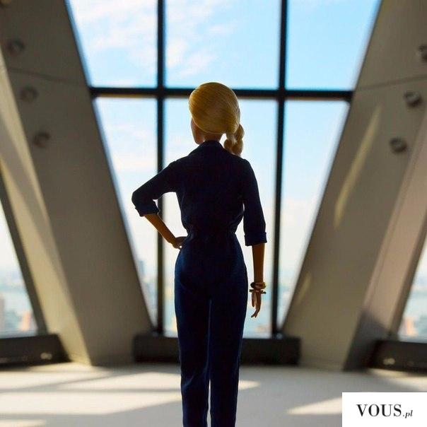Barbie w pracy