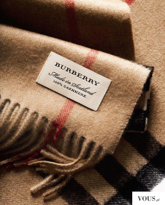 burberry szalik oryginalny