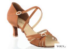 buty do łaciny obuwie ze zdobieniem i regulacją przy stopie