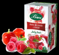 Juicy Fruit Sweet Kiss Żurawina, granat i guarana z sokiem   Herbata owocowa z sokiem z aronii e ...