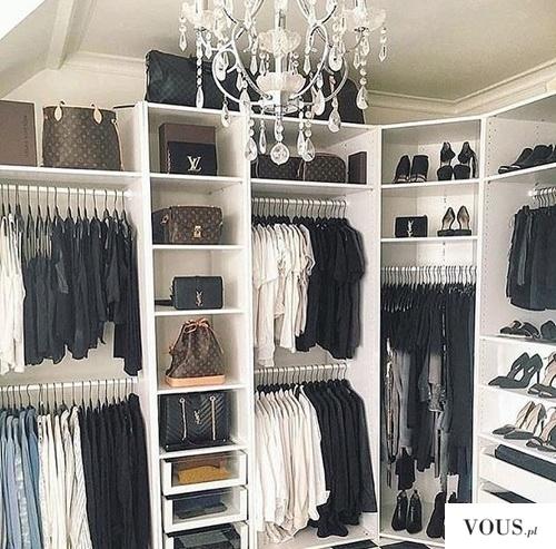 Luksusowa garderoba