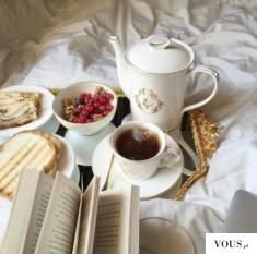Luksusowy poranny zestaw śniadaniowy