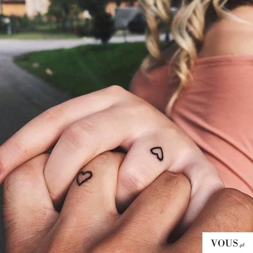 delikatne tatuaże, serca