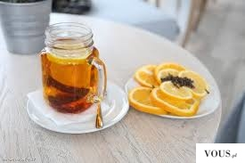 lemon and tea