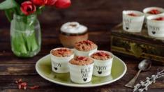 Przepis – Muffinki amarantusowe z jagodami – Biuro Napoleona