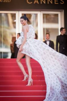 Kendall Jenner marque un look qui se vente