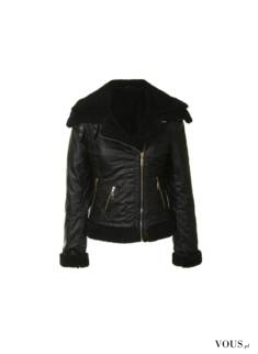 Damska czarna kurtka