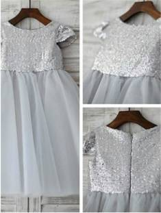 Cheap Flower Girl Dresses UK Online, Ivory/White Kids Dresses – AdoringDress