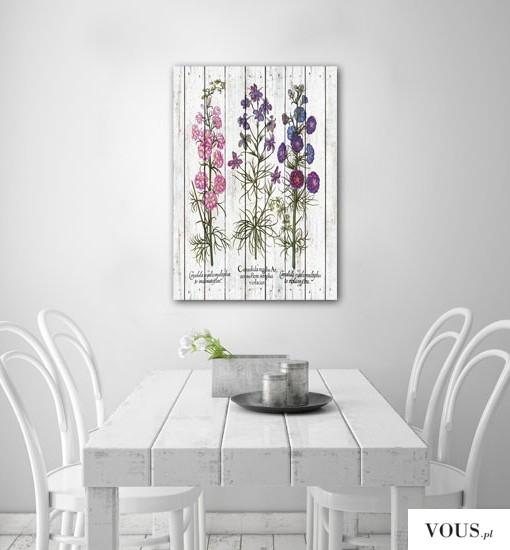 Plakat w stylu rustykalnym polecamy do upiększenia ścian w kuchniach oraz jadalniach.