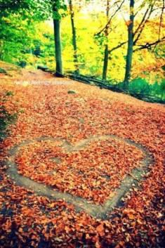 Leaf love | AUTUMN | Pinterest | Serce i Jesień – Babstyl | Babstyl