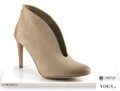 Beżowe damskie buty