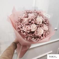 rózowe róże