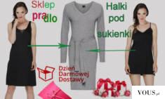 Halki na szerokich szelkach, wąskich szelkach regulowanych idealnie nadają się pod sukienki. Wyk ...