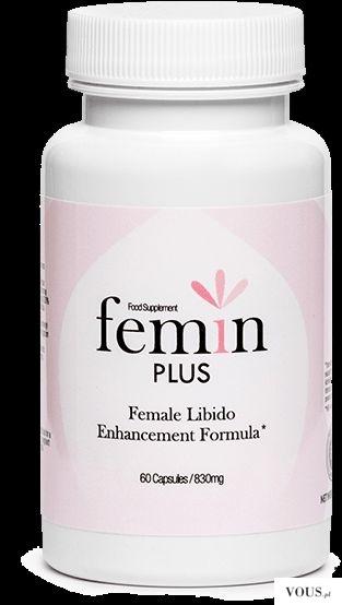 Najlepsze tabletki na wzrost libido u kobiety – Femin PLUS
