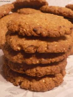 Chrupiące ciasteczka owsiane | AleTorcik!