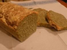 Drożdżowy chlebek szpinakowy | AleTorcik!