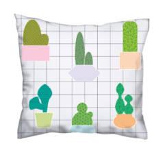 Poduszka w kaktusy
