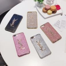 イブサンローラン YSL iphone x/8/7/6s プラス ソフトケース アイフォン7 PLUS シリコン製 ケース キラ ...