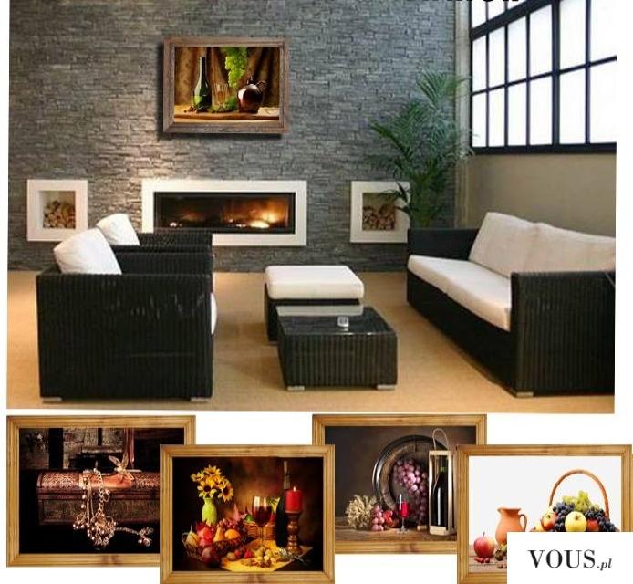 Popatrzcie jak obraz dodaje klimatu w pomieszczeniu. Wybierzcie coś fajnego dla siebie u nas  ht ...