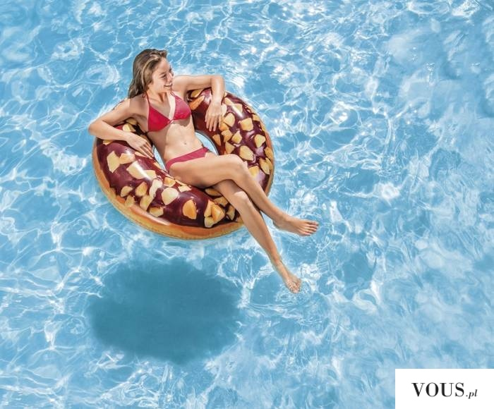 Promocja: Koło do pływania w formie pączka od www.hop-sport.pl w niskiej cenie :)