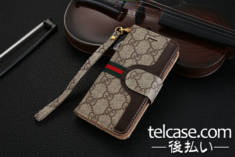 グッチ Galaxy S8plusケース 手帳
