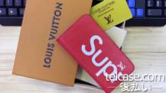 シュプリーム ヴィトン iphone8ケース 手帳 iphone7ケース iphoneX/xc/xplusケース SUPREME LV コラボ