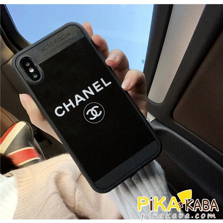シャネル iPhoneX iPhone8 8plusケース 鏡面 おしゃれ 上品 耐衝撃