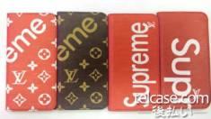 シュプリーム ヴィトン iphonex/xplusケース 手帳 supreme lv iphone8ケース 手帳 iphone7ケース iphon ...