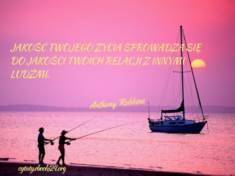 ✩ Anthony Robbins cytat o jakości życia ✩ | Cytaty motywacyjne