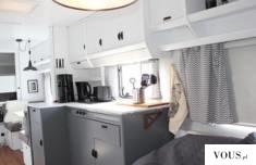 Kamper kuchnia inspiracja / wnętrze kampera