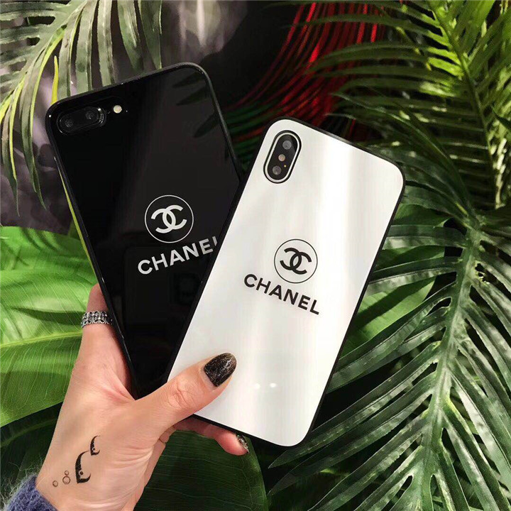 シャネル iphonex/xs/xplus/8ケース 鏡面ケース 鏡面バックプレート Galaxy s9/s9 plusケース CHANEL i ...