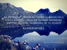 ✩ Napoleon Hill cytat o zwycięstwie i celach ✩ | Cytaty motywacyjne