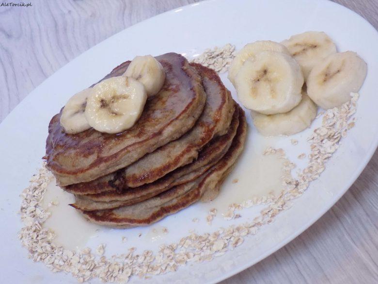 Pancakes owsiane z bananami | AleTorcik!