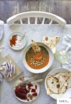 Zupa z ciecierzycy / piekne zdjęcia