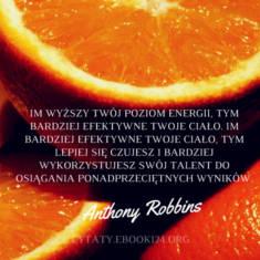 ✩ Anthony Robbins cytat o efektywności i ponadprzeciętnych wynikach ✩   Cytaty motywacyjne