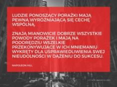 ✩ Napoleon Hill cytat o porażce i sukcesie ✩ | Cytaty motywacyjne