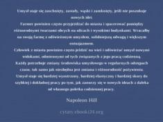 ✩ Napoleon Hill cytat o umyśle i nowych ideach ✩ | Cytaty motywacyjne