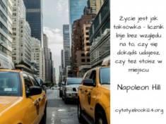 ✩ Napoleon Hill cytat o życiu ✩ | Cytaty motywacyjne