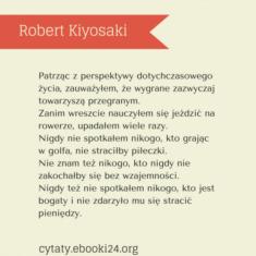 ✩ Robert Kiyosaki cytat o porażce i sukcesie ✩ | Cytaty motywacyjne