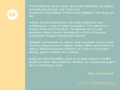 ✩ Ben Sweetland cytat o twórczym umyśle ✩   Cytaty motywacyjne