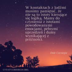 ✩ Dale Carnegie cytat o kontaktach z ludźmi ✩ | Cytaty motywacyjne