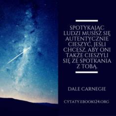 ✩ Dale Carnegie cytat o radości ✩ | Cytaty motywacyjne